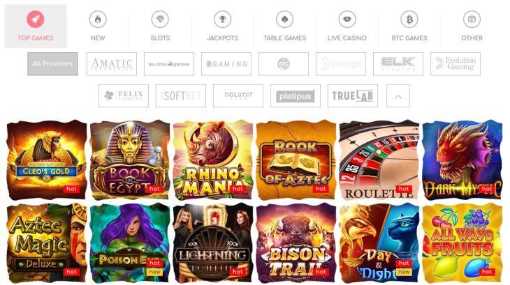 Spiludviklere og Loki casino spil