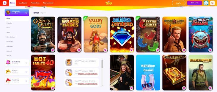 Spiludviklere og 7 Signs casino spil
