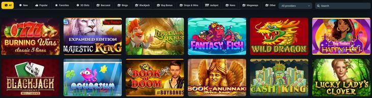 Spiludviklere og casinospil